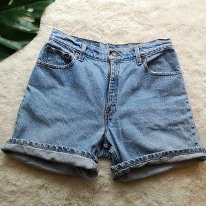 Vintage Levis jeans shorts